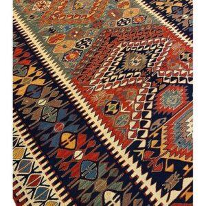 Kilim sennè persiano misura 197x143 cm