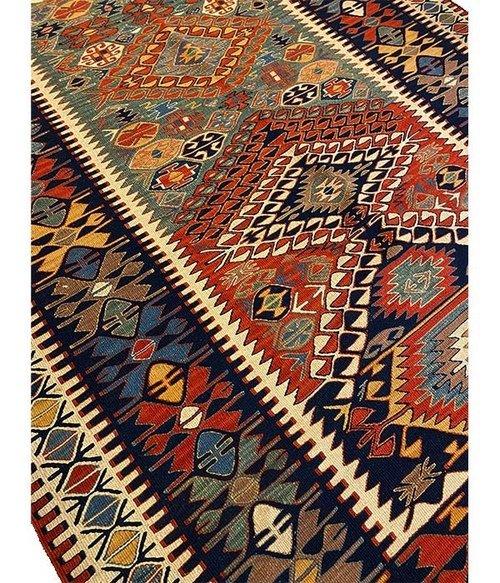 Kilim sennè persiano misura 197×143 cm