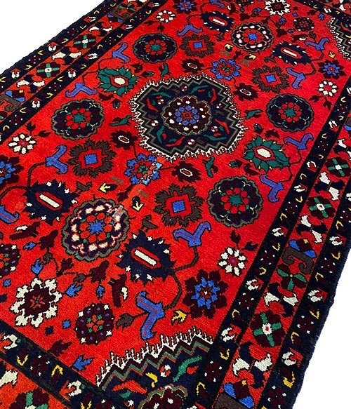Tappeto colorato Karabagh 226×134 cm