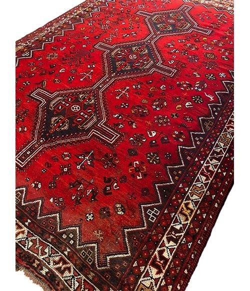 Tappeto persiano Shiraz 276x200cm